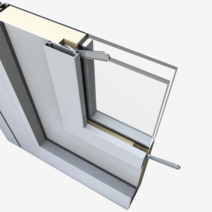 Pannelli per portoncini d'ingresso Serie 5000 - Sostituzione vetro fase 2