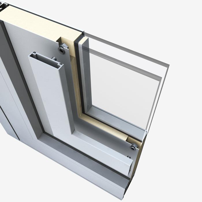 Pannelli per portoncini d'ingresso Serie 5000 - Sostituzione vetro fase 3