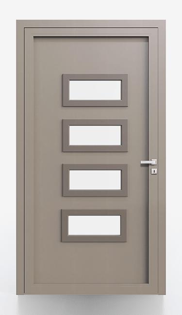 Pannelli per portoncini d'ingresso Serie 5000 - Lato interno liscio cornice non in tinta